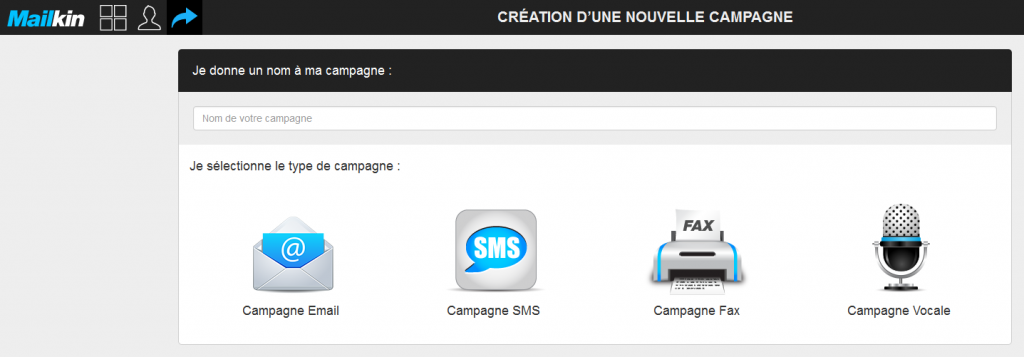 creer une campagne sms